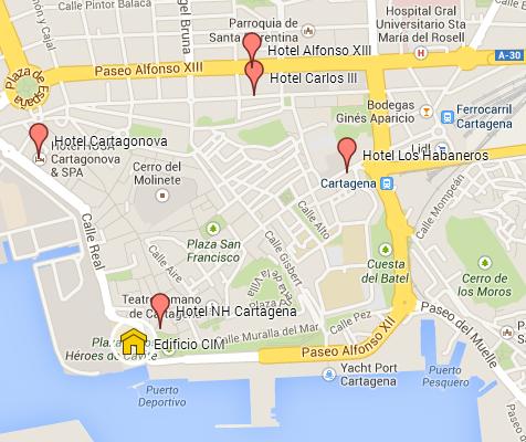 Mapa De Cartagena Murcia.Rbmp 2014 Informacion General