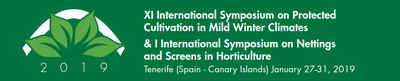 XI International Symposium on Protected Cultivation in Mild Winter Climates & I International Symposium on Nettings and Screens in Horticulture (MILDWINTER 2019)